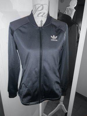 Adidas Originals Blouson aviateur blanc-noir