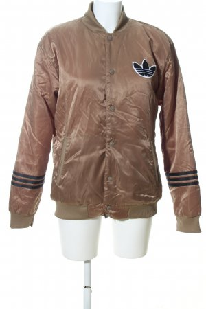 Adidas Bomber Jacket bronze-colored-black casual look