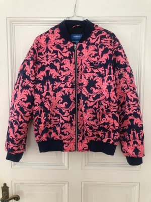 Adidas Giacca bomber blu-rosa