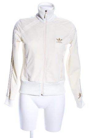 Adidas Giacca bomber bianco sporco stile casual
