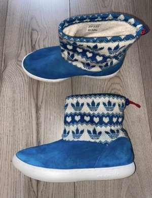 Adidas Snow Boots white-blue