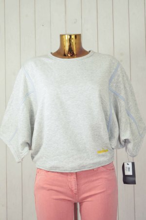 Adidas by Stella McCartney Sweatshirt gris clair coton