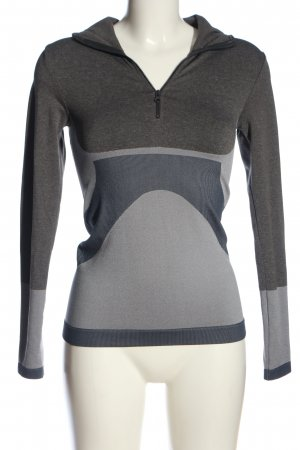 Adidas by Stella McCartney Kapuzensweatshirt hellgrau meliert Casual-Look