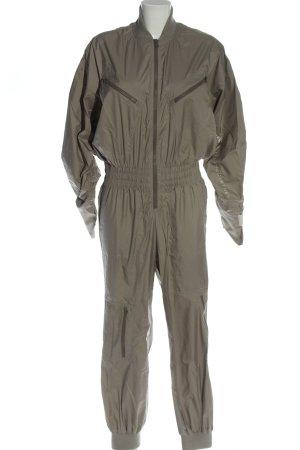 Adidas by Stella McCartney Langer Jumpsuit hellgrau Casual-Look