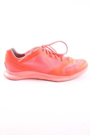 Adidas by Stella McCartney Schnürsneaker pink-hellorange Punktemuster