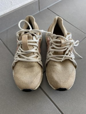 Adidas by Stella McCartney Sneaker stringata oro-crema