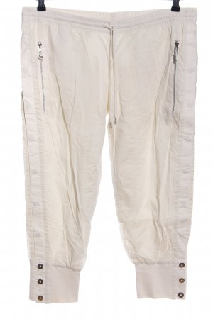 Adidas by Stella McCartney pantalonera blanco puro look casual