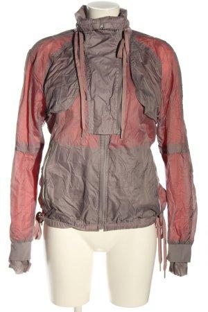 Adidas by Stella McCartney Sportjacke hellgrau-rot Farbverlauf Casual-Look
