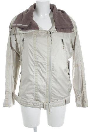 Adidas by Stella McCartney Sports Jacket oatmeal-grey lilac athletic style