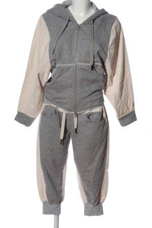 Adidas by Stella McCartney Ensemble en tricot crème-gris clair moucheté