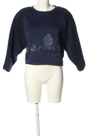 Adidas by Stella McCartney Sweatshirt blauw casual uitstraling