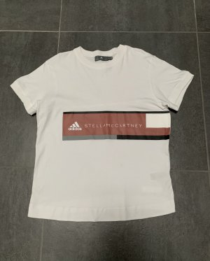 Adidas by Stella McCartney Top extra-large blanc coton