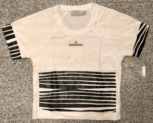 Adidas by Stella McCartney T-shirt blanc-noir