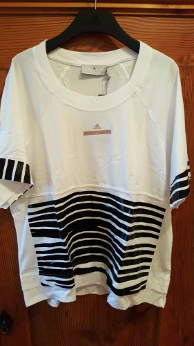 Adidas by Stella McCartney T-shirt blanc-noir