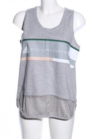 Adidas by Stella McCartney Tanktop prints met een thema casual uitstraling