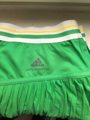 Adidas by Stella McCartney Gonna a pieghe verde