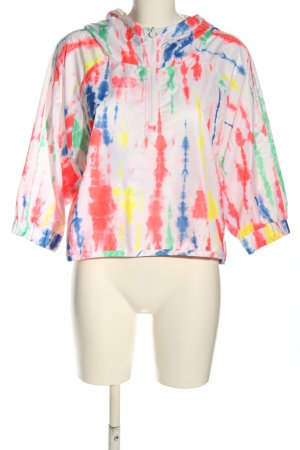 Adidas by Stella McCartney Giacca a vento motivo astratto stile casual