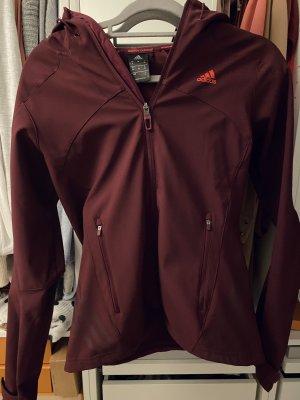 Adidas Softshell Jacket bordeaux