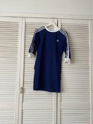 Adidas Robe pull blanc-bleu foncé