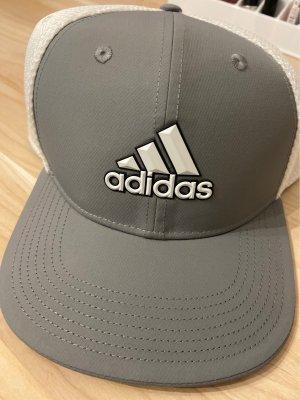 Adidas Baseballówka biały-szary