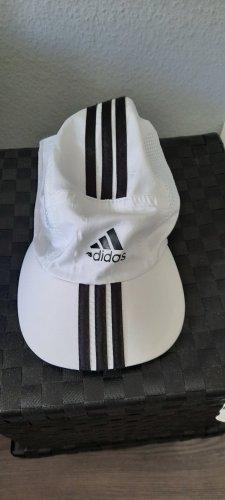 Adidas Baseballówka biały-czarny