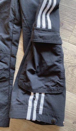 Adidas Spodnie Capri czarny-biały