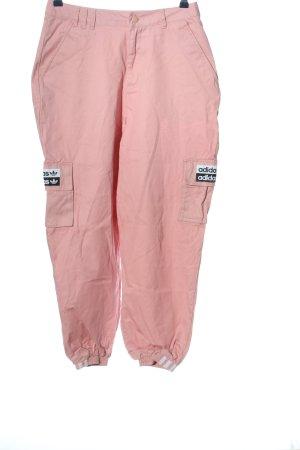 Adidas Cargohose pink Casual-Look
