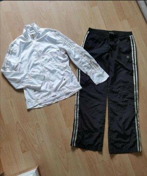 Adidas Woven Twin Set white-black