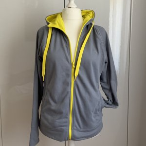 Adidas Sweatjack geel-grijs Polyester
