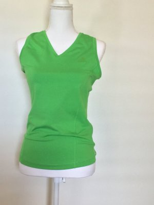 Adidas Débardeur de sport vert polyester