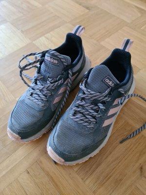 Adidas Originals Sznurowane trampki srebrny-w kolorze różowego złota