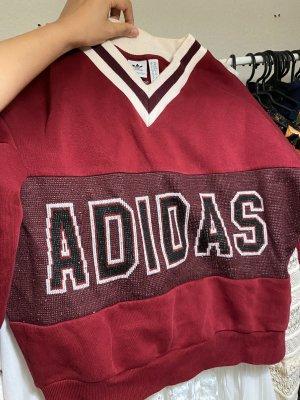 Adidas College Pullover Pulli Sweater Logo vintage retro 90sLook