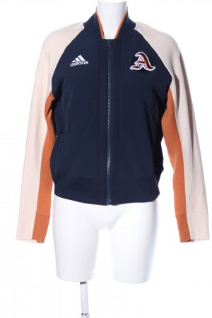 Adidas College Jacket graphic pattern casual look