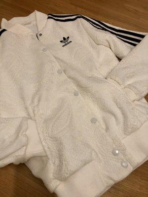 Adidas Giacca college bianco-nero Poliestere