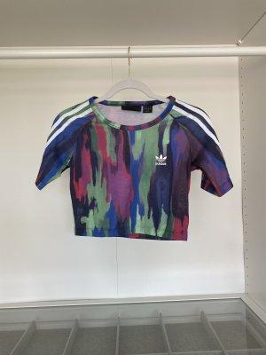 Adidas Top recortado multicolor