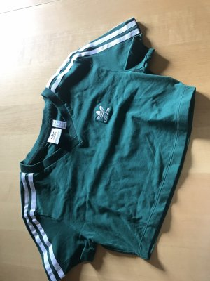 Adidas Cropped Top dark green-forest green