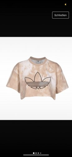 Adidas Crop Top (Batikmuster)
