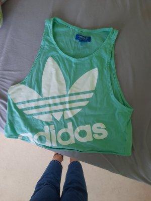 Adidas Top sportowy turkusowy