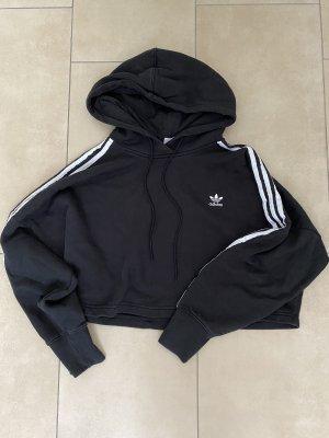 Adidas Maglione con cappuccio nero-bianco