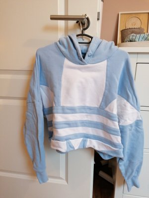 Adidas Hooded Sweater light blue