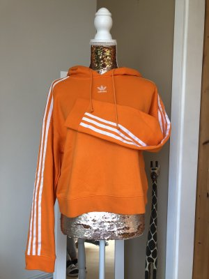 Adidas Originals Hooded Sweater neon orange-white