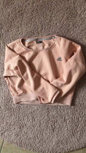Adidas Maglione girocollo rosa chiaro-argento