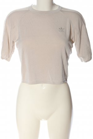 Adidas Cropped top nude casual uitstraling