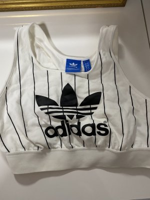 Adidas Bustier Top white-black