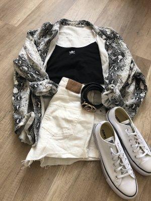 Adidas Cropped top zwart-wit