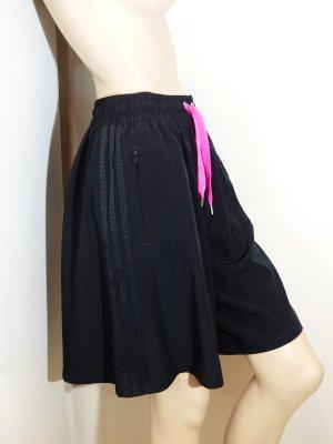 Adidas Falda pantalón negro-rosa Poliéster