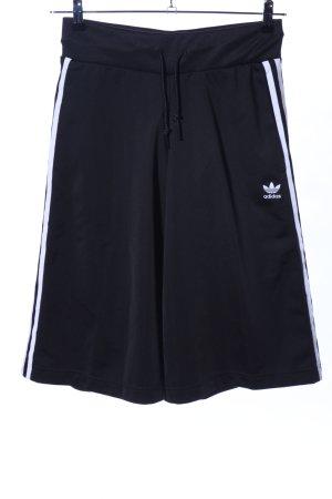 Adidas Pantalone culotte nero stile atletico