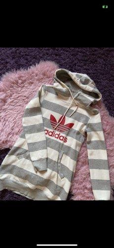 Adidas Originals Długi sweter biały-szary