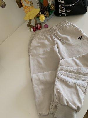 Adidas Originals Pantalon de sport blanc-rosé
