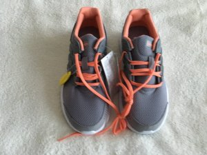 Adidas Originals Sneakers met veters lichtgrijs-oranje
